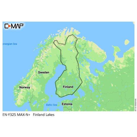 C-MAP Discover Suomen järvet karttakortti M-EN-Y211-MS