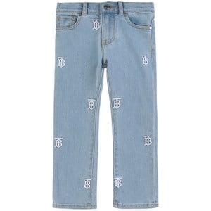 Burberry Monogram Jeans Blå 4 år