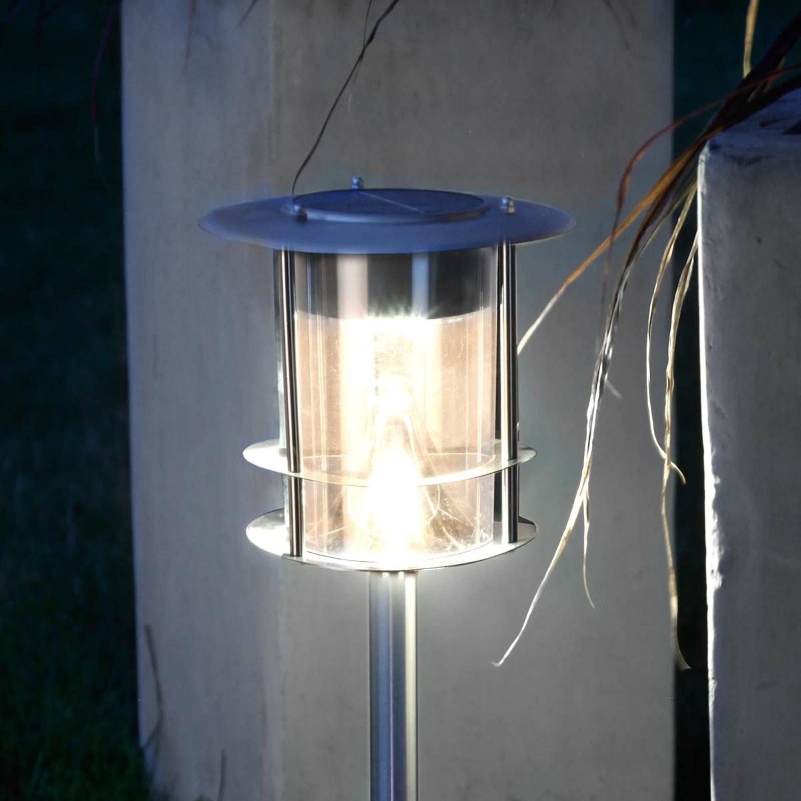 LED-aurinkokennovalaisin Garden Stick maapiikillä
