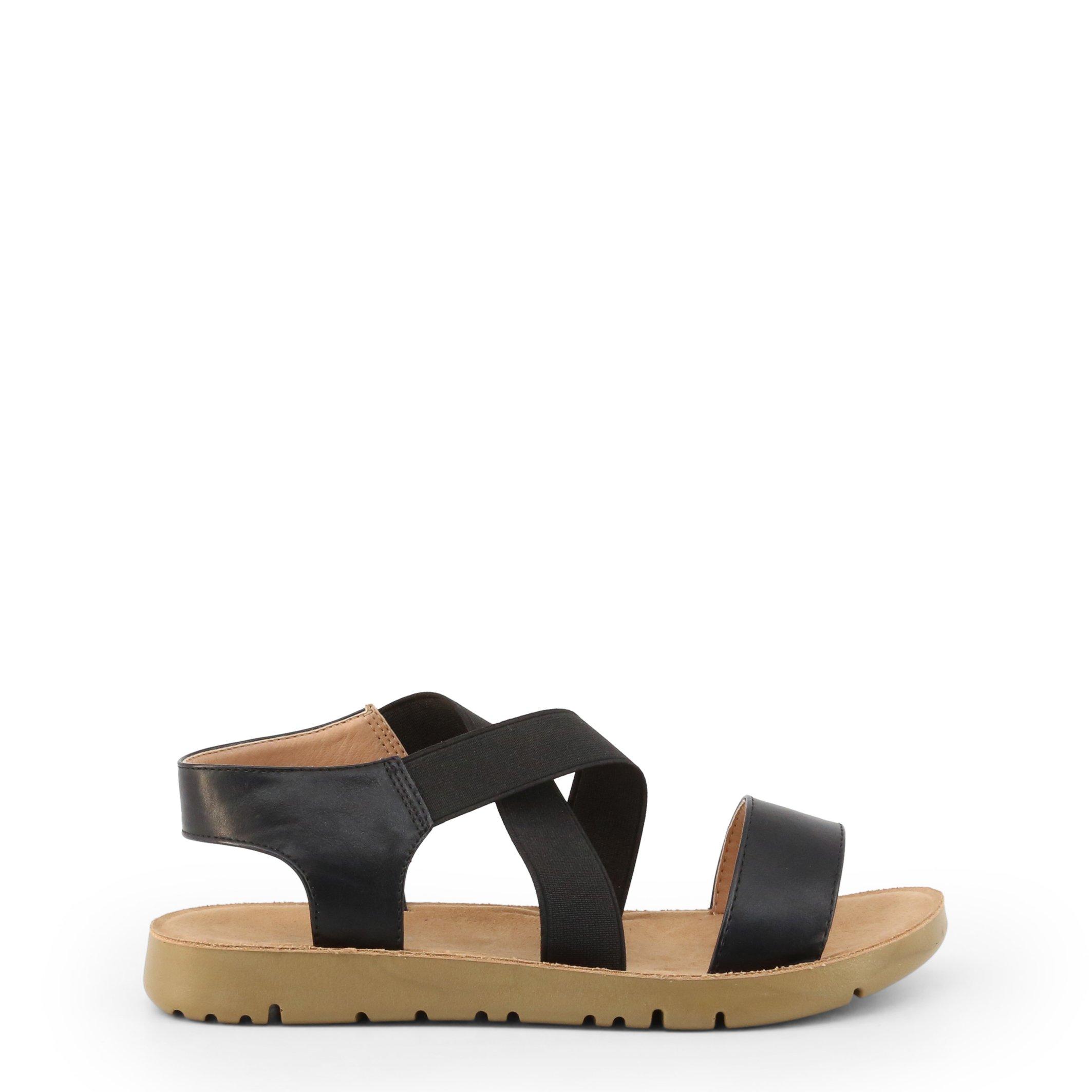 Roccobarocco Women's Sandal Various Colours RBSC1XY01 - black EU 36
