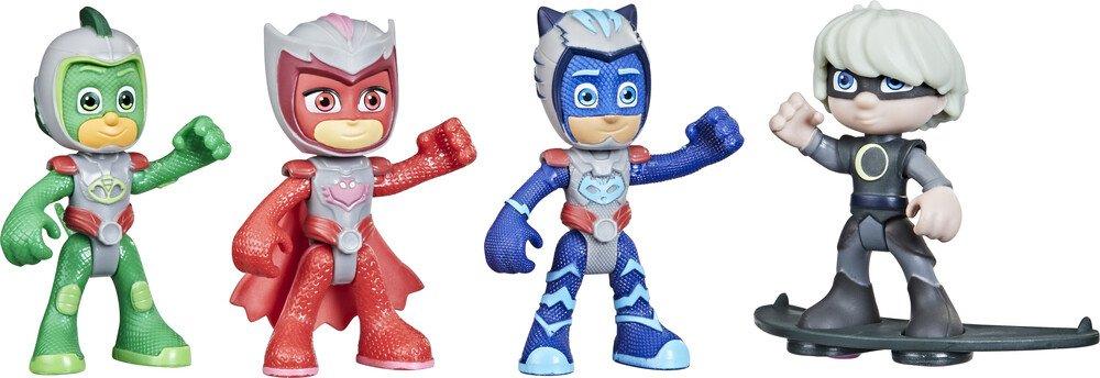 PJ Masks - Hero vs Villain 4 Pack (F2647)
