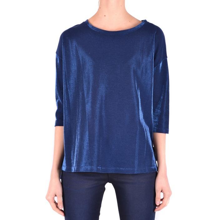 Jacob Cohen Women's Top Blue 162467 - blue S