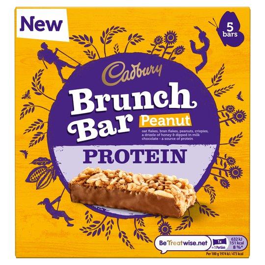 Cadbury Brunch Bar Peanut Protein 6-pack
