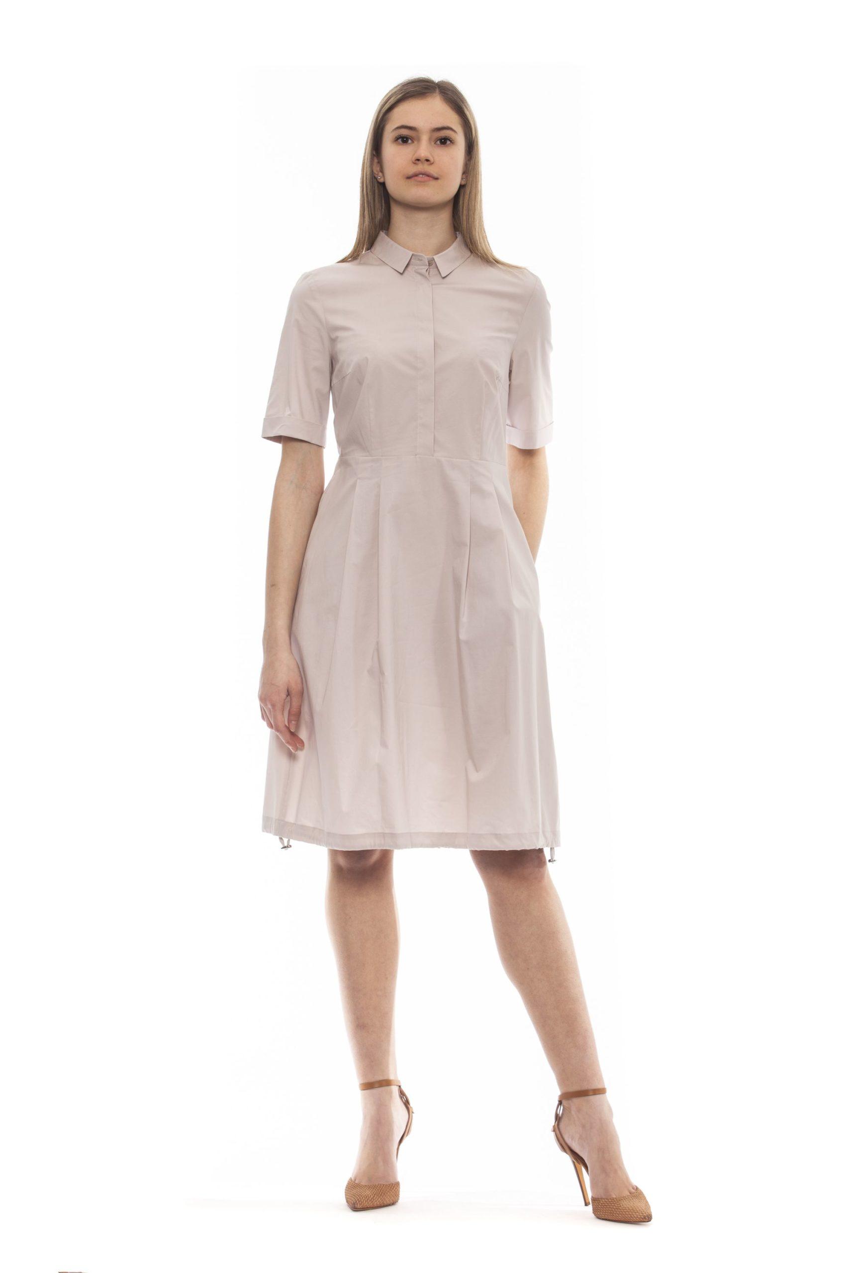 Peserico Women's Dress Beige PE1383258 - IT42 | S