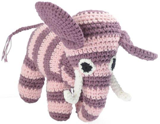Smallstuff Kosedyr Elefant, Rosa