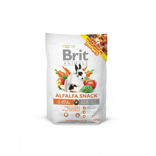 Brit Animals Alfalfa Snack (100 gram)
