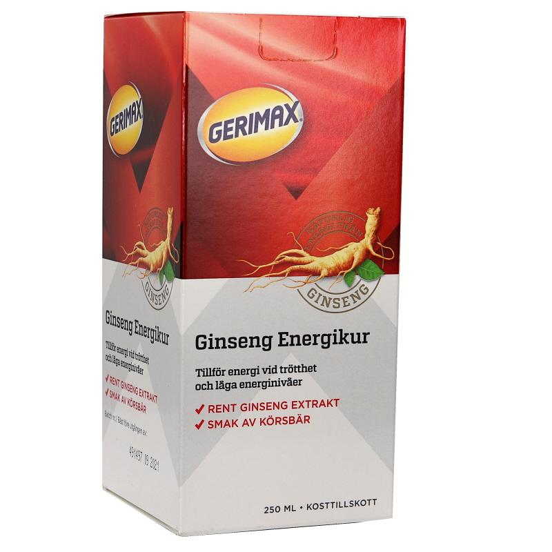 Kosttillskott Ginseng - 28% rabatt