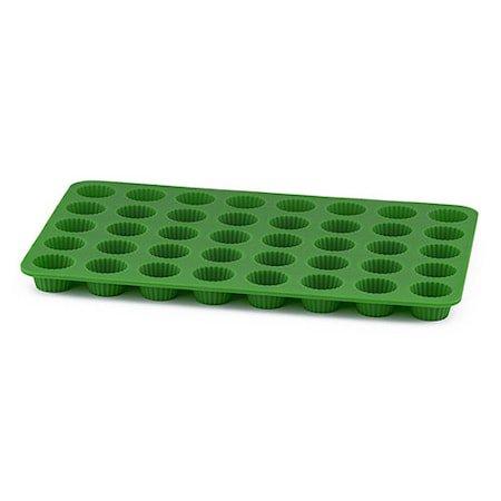 Pralinform knekk, grønn