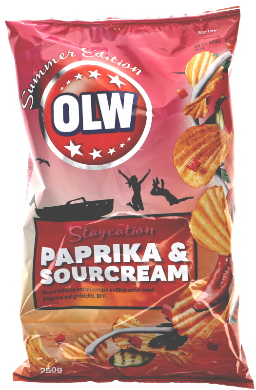 Chips Paprika & Sourcream - 26% rabatt