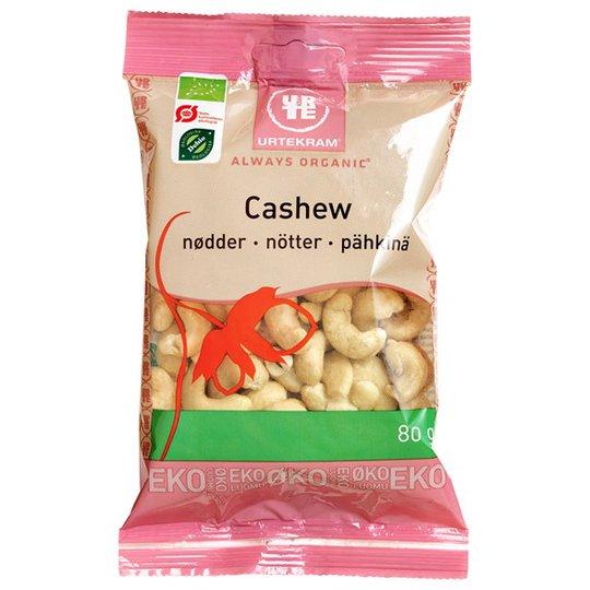 Urtekram Food Cashewnötter Hela, 80 g
