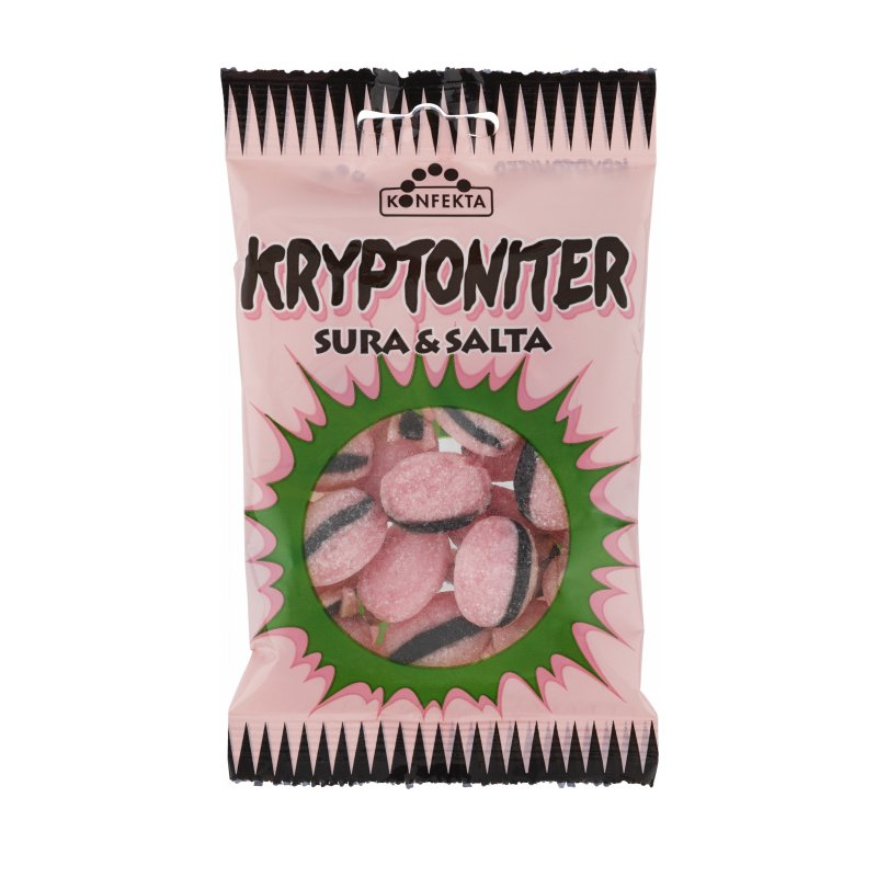 Godis Kryptoniter Sura & Salta Original 60g - 22% rabatt