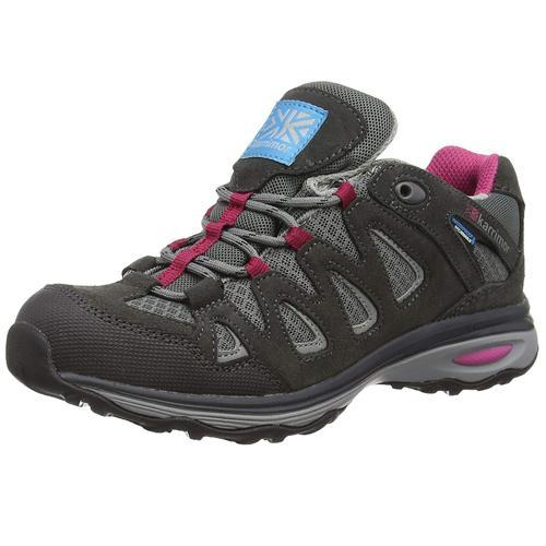 Karrimor Women's Weathertite Rise Waterproof Trekking Boot Multicolor Isla Low - Black C/Pink UK-7