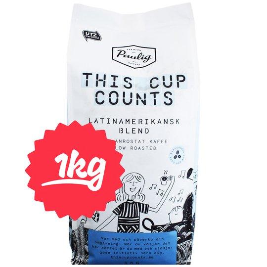 """Kaffebönor """"Latinamerikansk Blend"""" 1kg - 69% rabatt"""