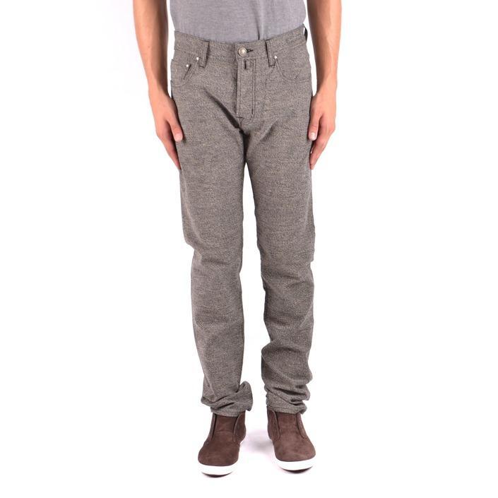 Jacob Cohen Men's Trouser Beige 163681 - beige 33