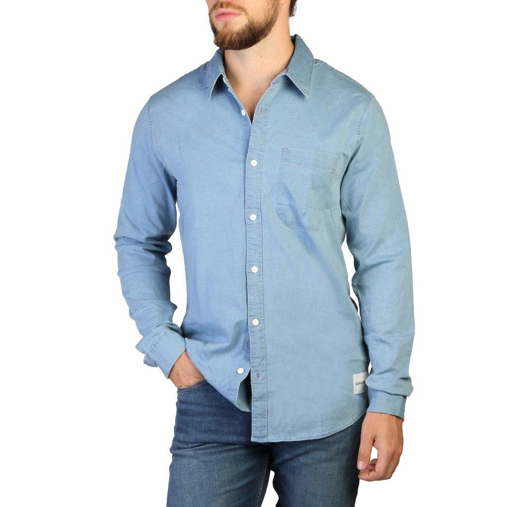 Calvin Klein Men's Shirt Blue 349430 - blue XL