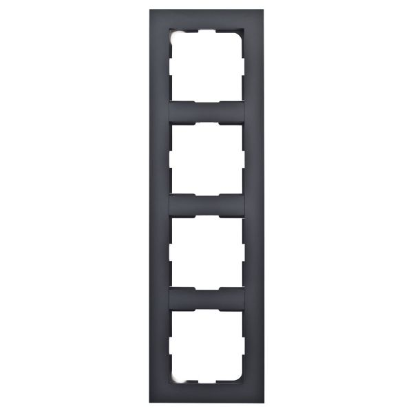 Elko Plus Kombinasjonsramme svart 4 rom