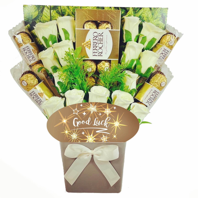 The Good Luck Ferrero Rocher Chocolate Bouquet