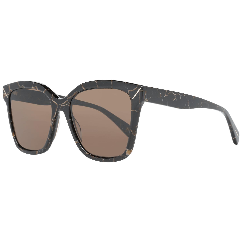 Yohji Yamamoto Women's Sunglasses Brown YS5002 55134