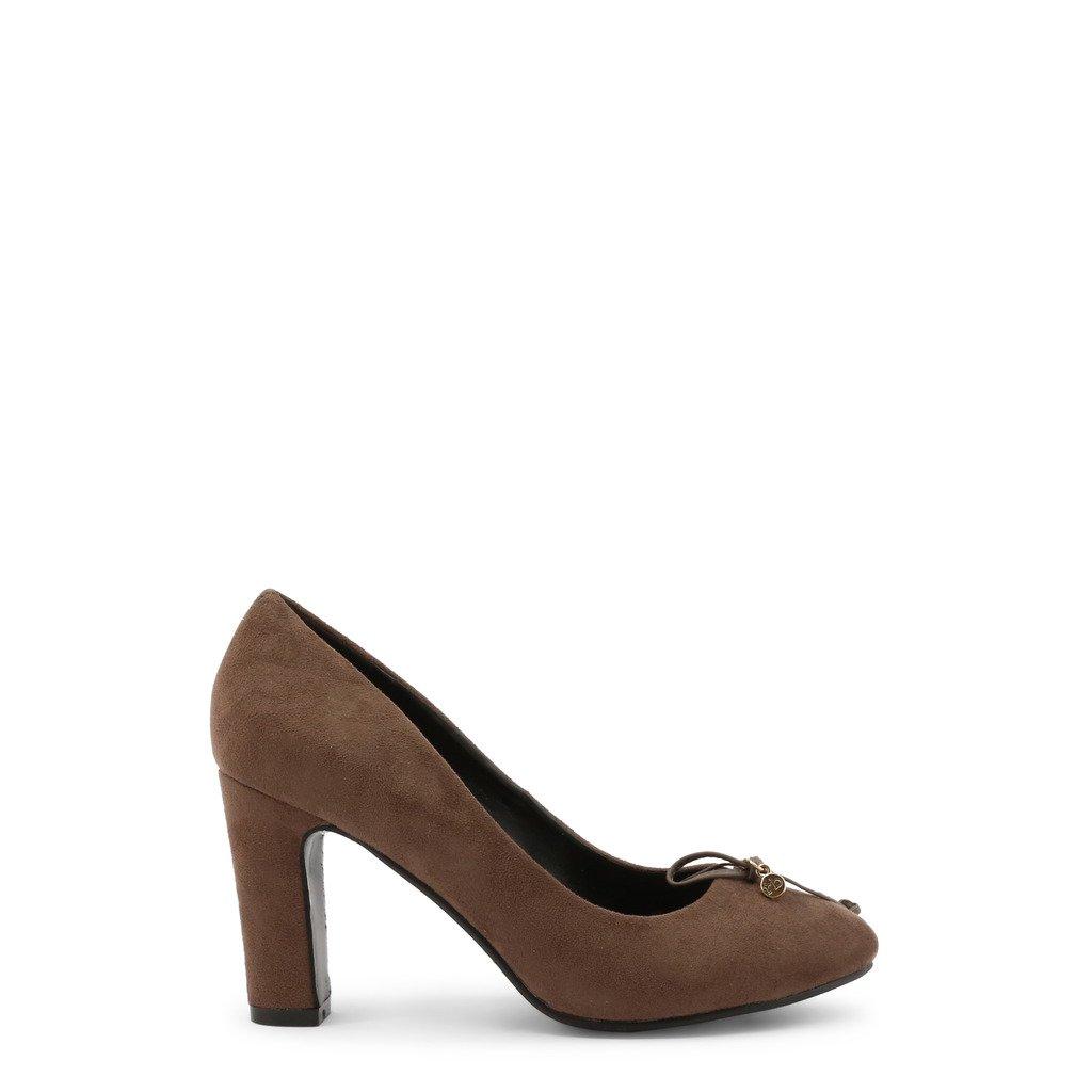 Roccobarocco Women's Heels Brown 342740 - brown EU 37