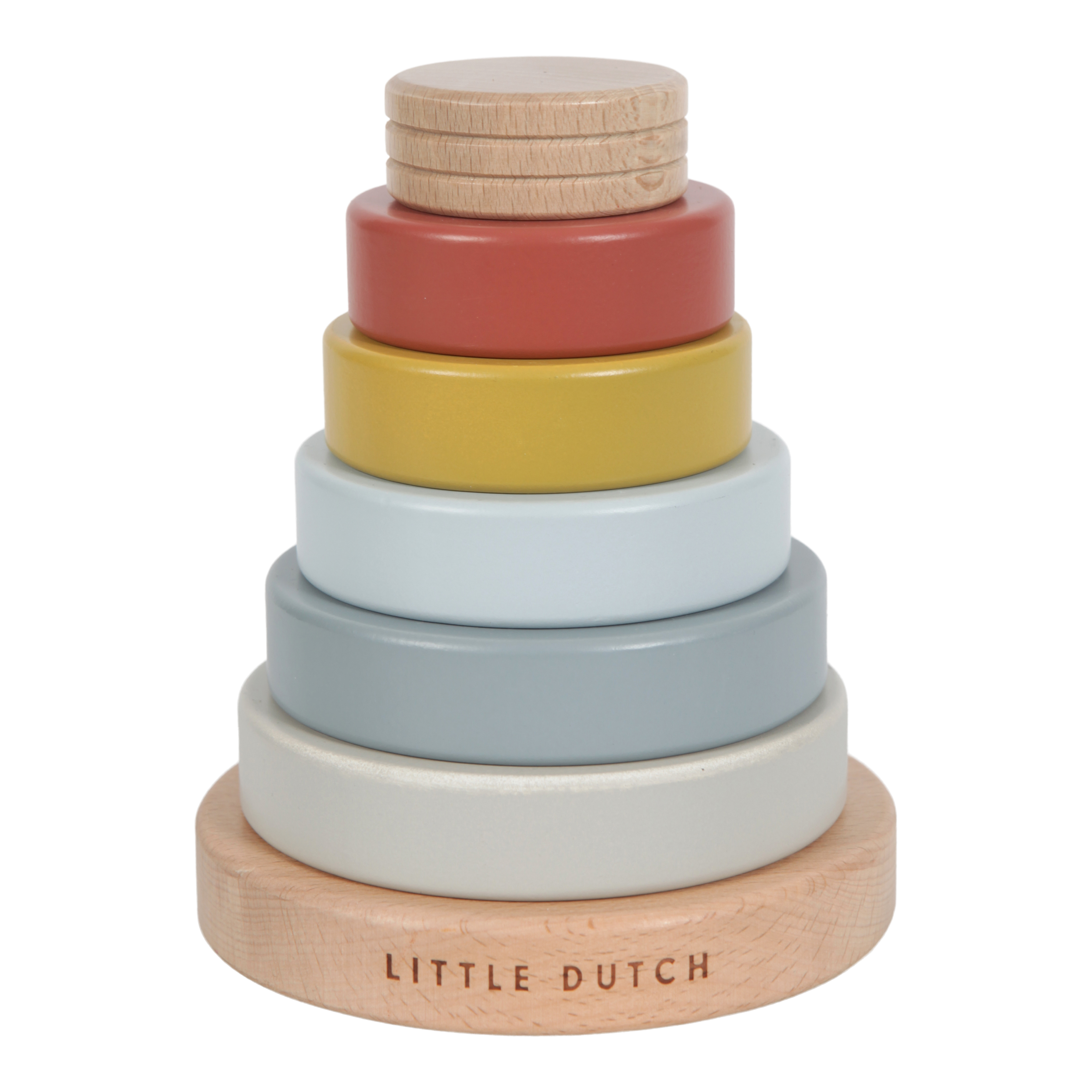 Little Dutch - Stacking rings Pure & Nature ( LDW4703)
