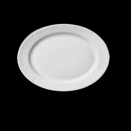 Grand Cru Oval plate 17,5x23,5 cm hvit