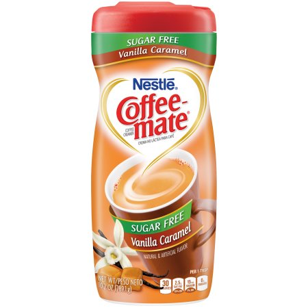 Nestle Coffee-Mate Sugar Free Vanilla Caramel 289g