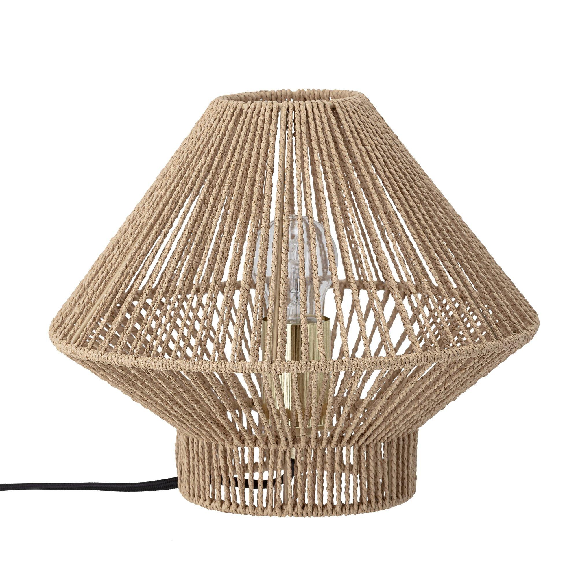 Bloomingville - Papir Table Lamp Ø 30 cm - Natur (82048614)