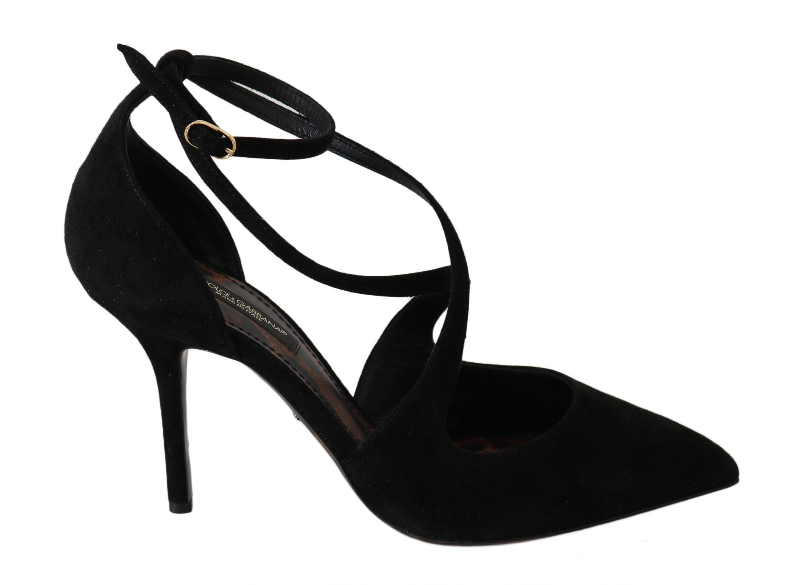 Dolce & Gabbana Women's Heels Shoes Black LA5970 - EU35.5/US5