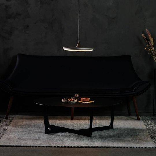 LE KLINT Soleil hengelampe papir mørkegrå Ø50cm