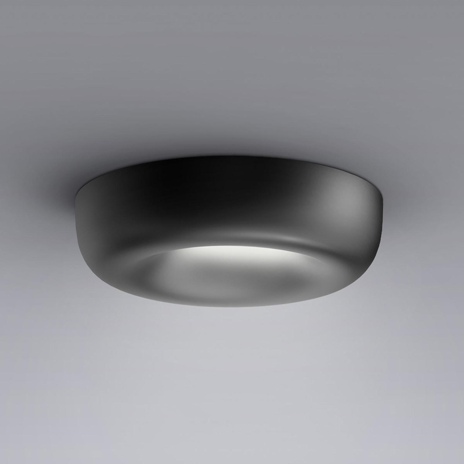 serien.lighting Cavity Recessed S, musta