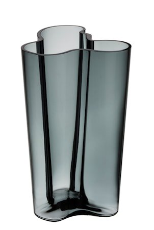 Aalto vase 25 cm, mørkegrå