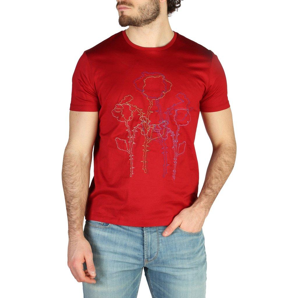 Emporio Armani Men's T-Shirt Various Colours 3Z1T6R1JQ3Z0 - red S