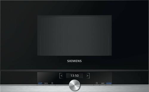 Siemens Bf634lgs1 Iq700 Inbyggd Mikrovågsugn - Rostfritt Stål