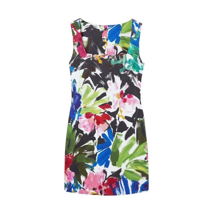Desigual Women's Dress Multicolor 299660 - multicolor L