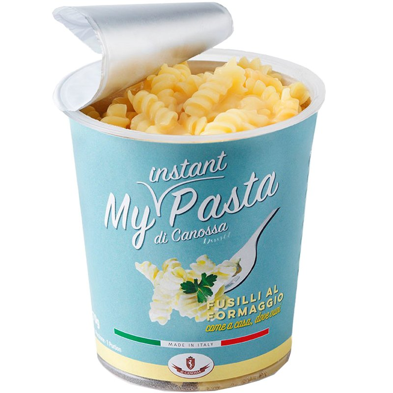 Snackpot Pasta Fusilli Al Formaggio - 19% rabatt