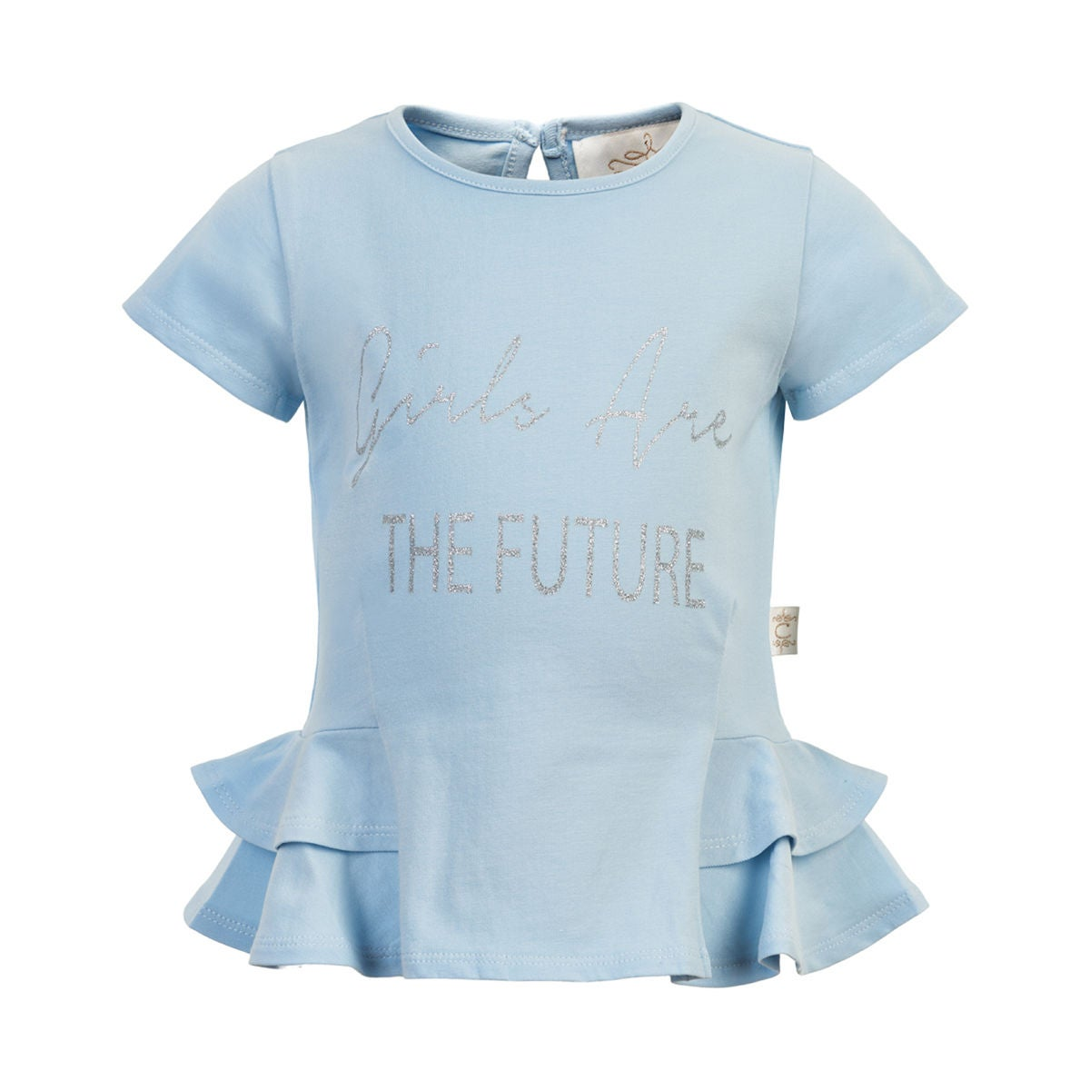 Creamie T-Shirt, Celestial Blue, 80