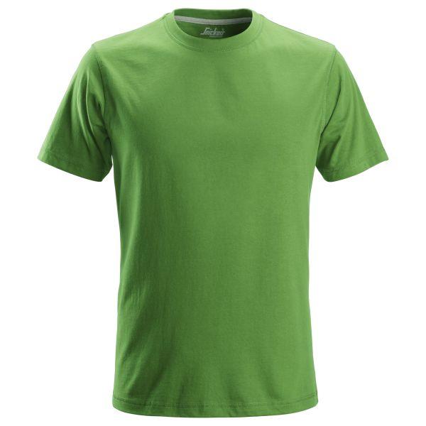 Snickers 2502 T-paita vihreä XS