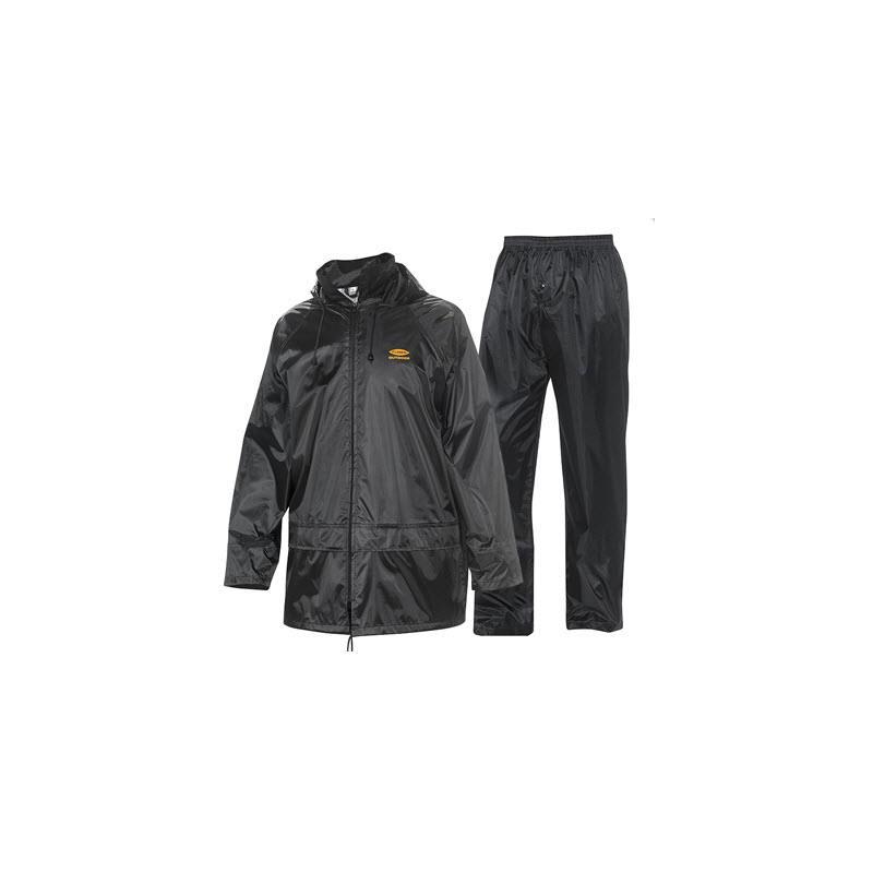 Fladen 911 Regntøy sett jakke/Bukse M Polyester & PVC Coating