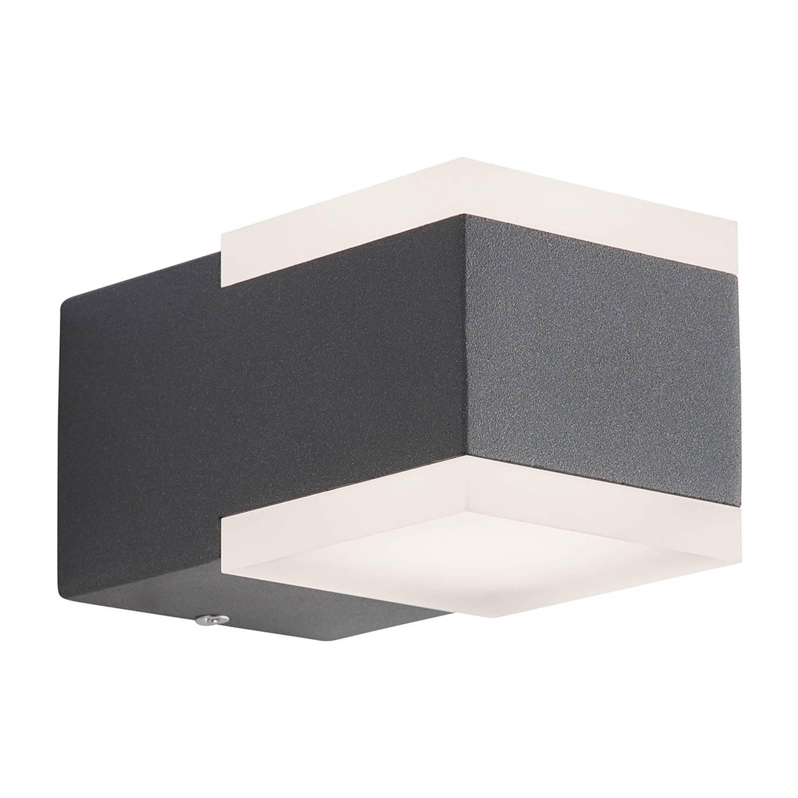 AEG Amity -LED-ulkoseinälamppu, 2-lamppuinen