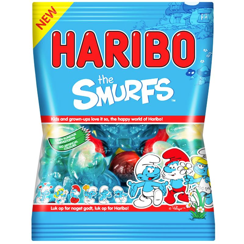 """Godis """"The Smurfs"""" 125g - 22% rabatt"""
