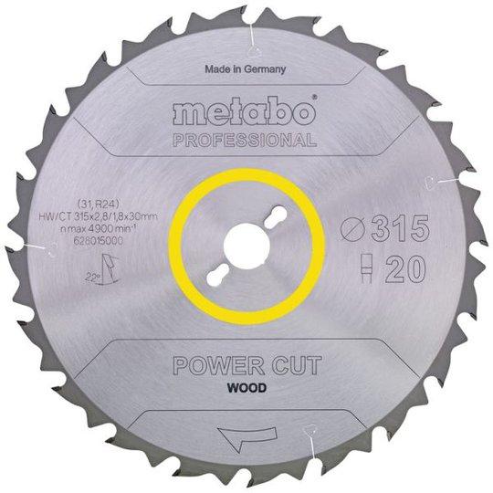 Metabo 628020000 Sahanterä 450x30 mm, 32T, puulle