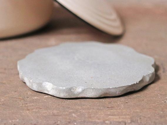 Cement Circle Trivet