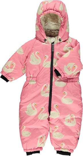 Småfolk Dress, Winter Pink 0-6 månader
