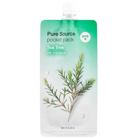 Pure Source Pocket Pack (Tea Tree), MISSHA Kasvonaamiot