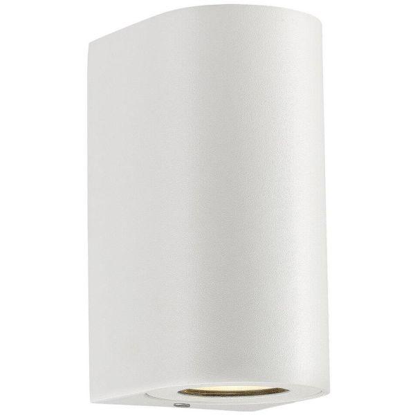 Nordlux CANTO 49721001 Seinävalaisin 2x28W LED, IP44, GU10 valkoinen