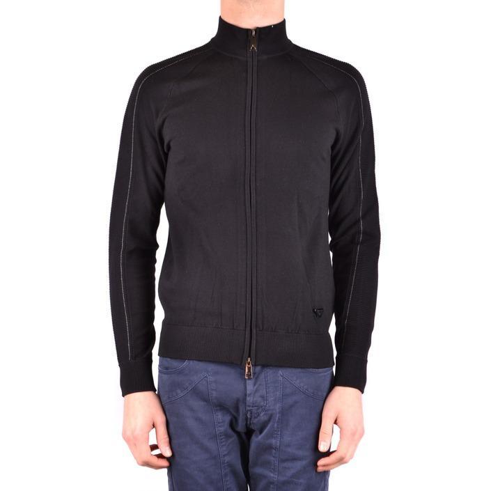 Armani Jeans Men's Sweatshirt Black 160876 - black S