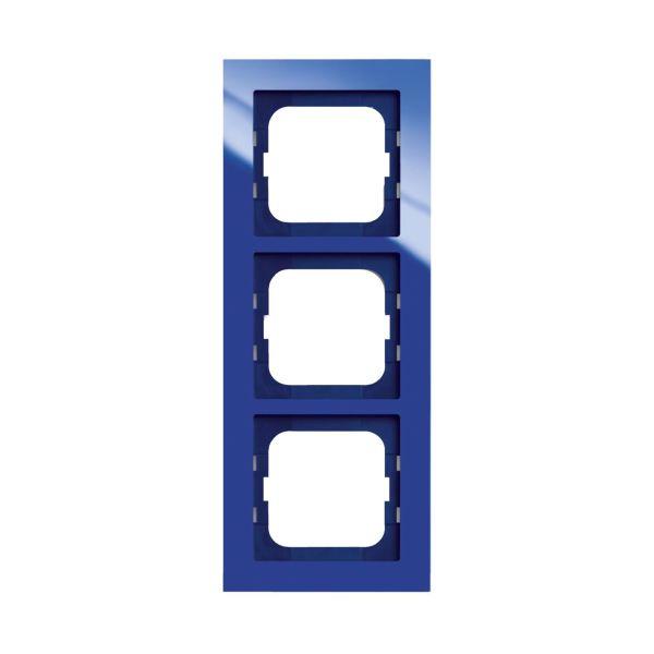 ABB Axcent Kombinasjonsramme blå 3 rom