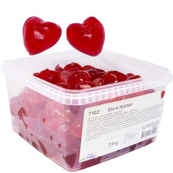 Aroma Stora Hjärtan - 2,5 kg