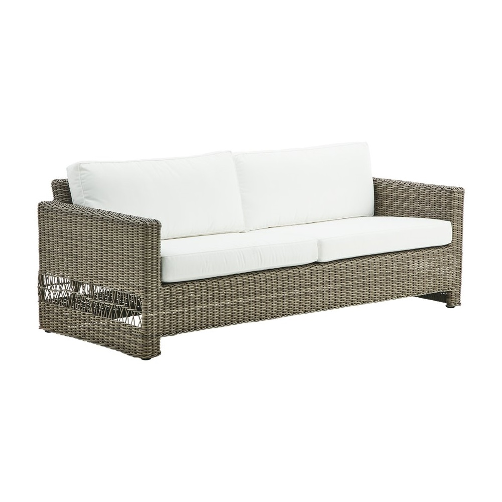Lounge soffa utomhus Carrie 3-sits, Sika-design