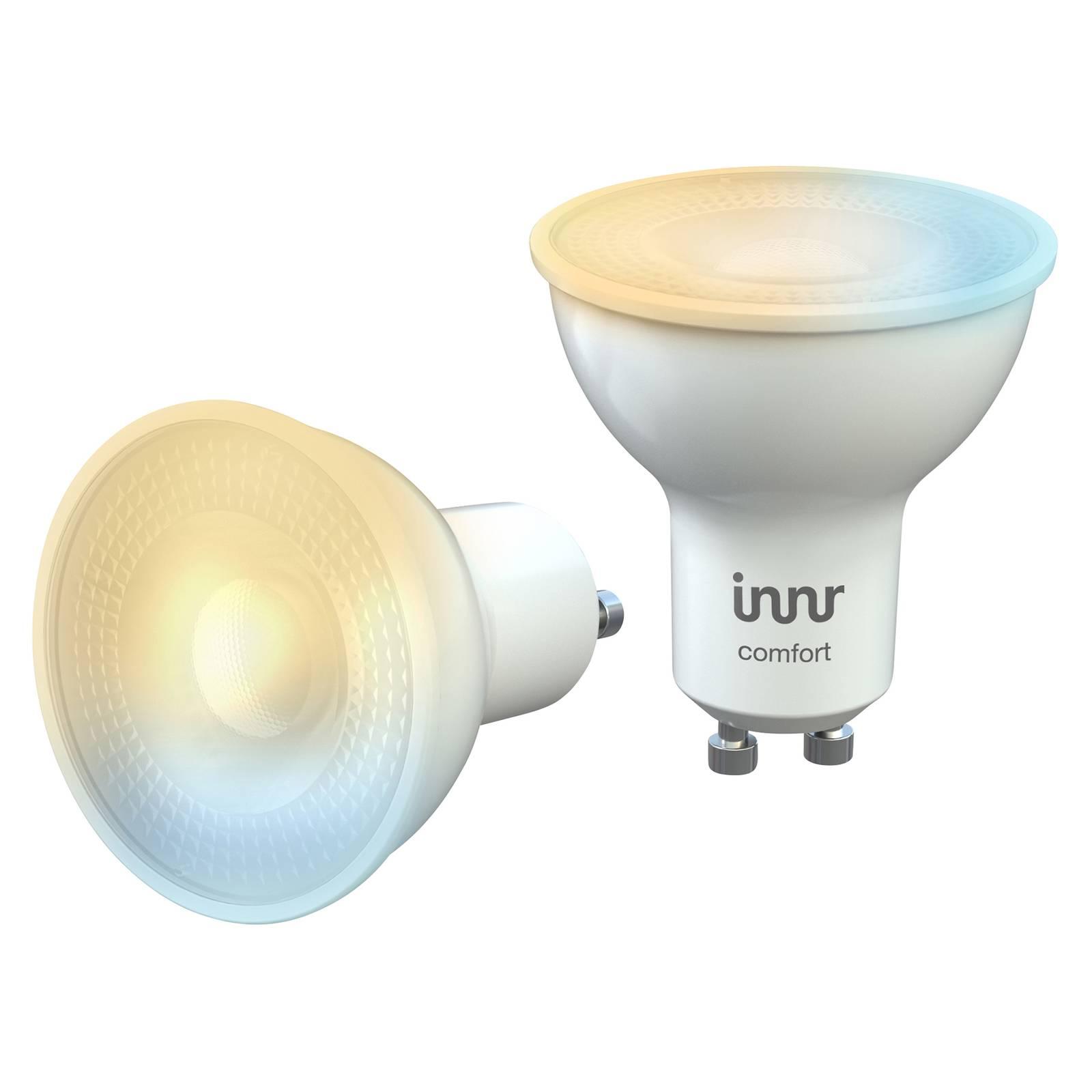 Innr LED-spotti GU10 5W 350lm, 2200–5000 K, 2 kpl